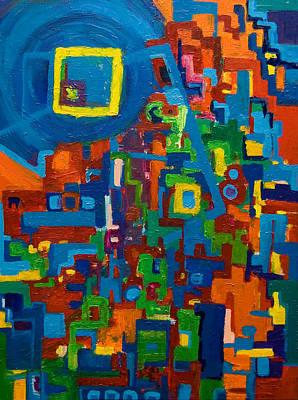 Painting - Thoughts 2009 by Gabi Dziok-Grubb