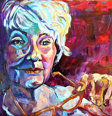 Painting - Thoughts by Barbara O'Toole