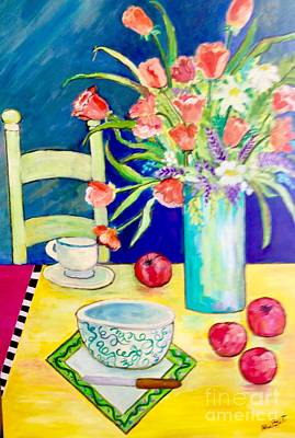 Painting - Thoughts Of Apple Pie by Rosemary Aubut