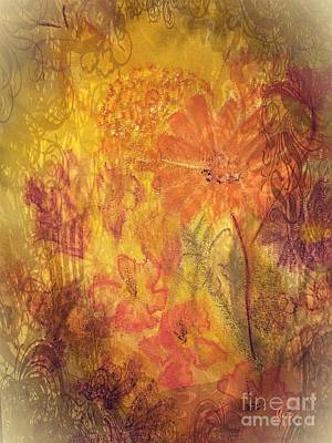 Mixed Media - Thoughts Of Autumn by Maria Urso