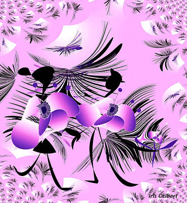 Digital Art - Thoughts Of Love #3 by Iris Gelbart