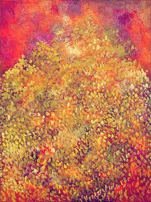 Painting - Thousand Happiness Chrysanthemums by Ruth Drayer