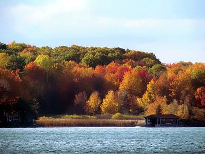 Photograph - Thousand Island Color by Dennis McCarthy