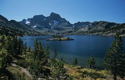 Thousand Islands Lake - Glacier - Mount Davis Jmt Art Print
