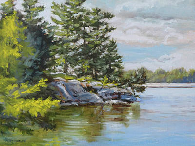 Painting - Thousand Islands by Richard De Wolfe