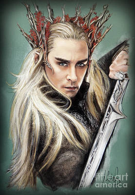 The Hobbit Wall Art - Pastel - Thranduil / The Hobbit / by Melanie D