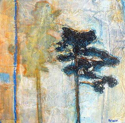 Thread Tree Art Print by Sandrine Pelissier