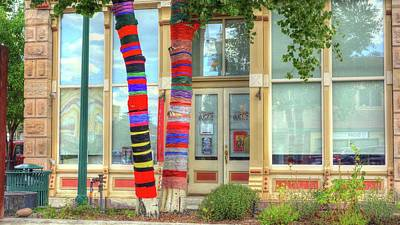 Photograph - Threaded Trees In Gunnison by Lanita Williams