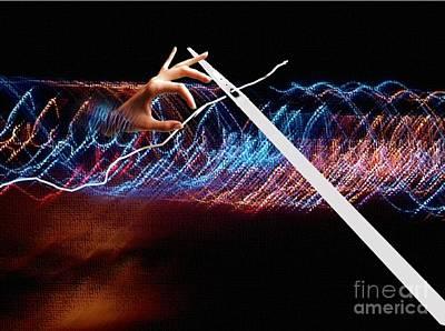 Digital Art - Threading A Needle by Belinda Threeths