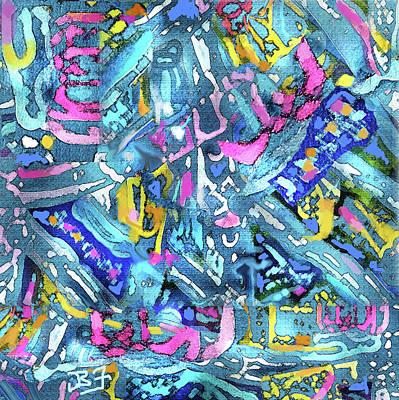 Digital Art - Threads by Jean Batzell Fitzgerald
