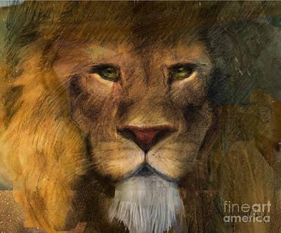 Threatened King Art Print