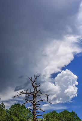 Looming Digital Art - Threatening Skies by Daniel Dean