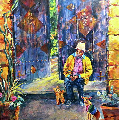 Painting - Three Amigos by Bonny Roberts