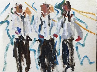 Painting - Three Amigos by Carol Berning