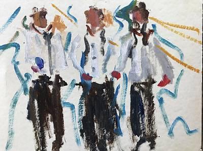 Painting - Three Amigos by Carol Berning