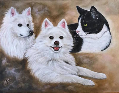 Painting - Three Amigos by Dr Pat Gehr