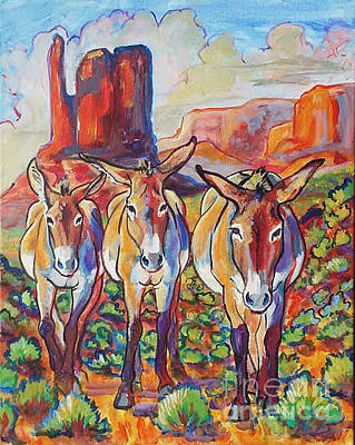 Painting - Three Amigos  by Jenn Cunningham
