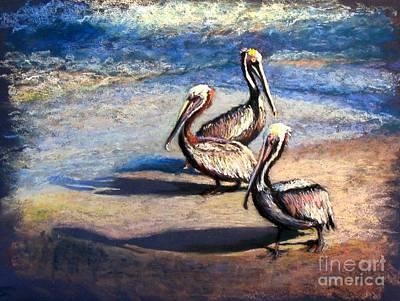 Three Amigos Art Print by Shirley Leswick