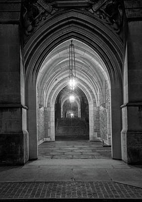 Photograph - Three Arches At Princeton University by Dave Mills