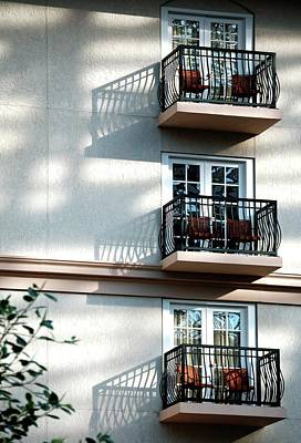 Photograph - Three Balconies by Jerry Sodorff