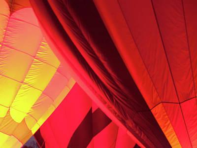 Photograph - Three Balloons by Stewart Helberg
