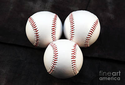 Photograph - Three Balls by John Rizzuto