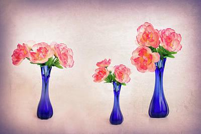 Photograph - Three Beautiful Things by Elvira Pinkhas