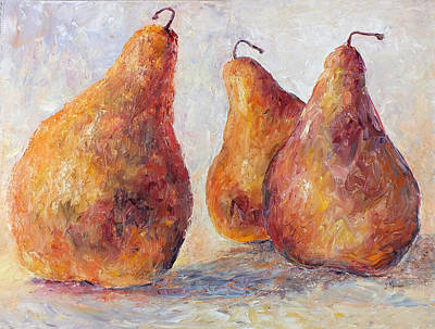 Painting - Three Boscs by Jill Musser