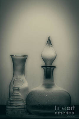 Photograph - Three Bottles by Linda Lees