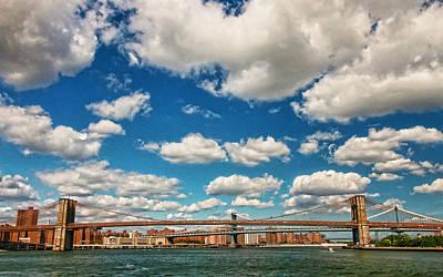 Photograph - Three Bridges by Allen Beatty