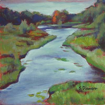 Painting - Three Bridges, Ontario - 014 Of Celebrate Canada 150 by Sheila Diemert
