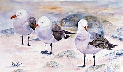 Painting - Three Carmelites by Marsha Karle