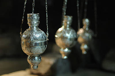 Photograph - Three Censers by Jeremy Voisey