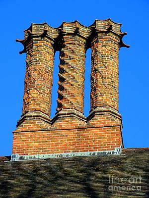 Photograph - Three Chimneys by Ed Weidman