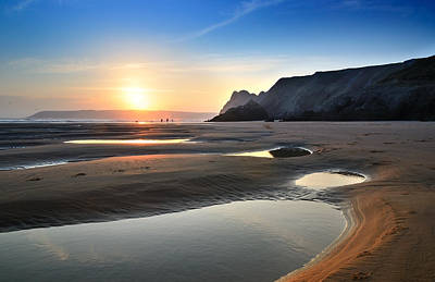 Three Cliffs Bay 2 Art Print