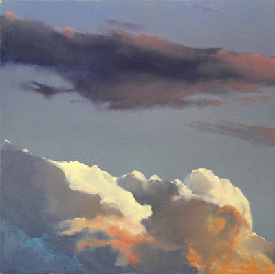 Painting - Three Clouds Sold by Cap Pannell
