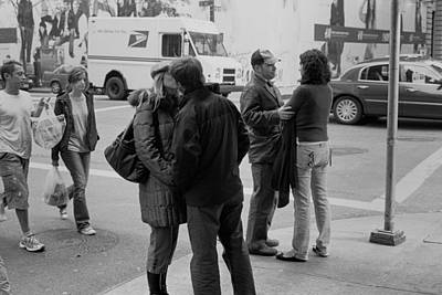 Photograph - Three Couples by Dave Beckerman