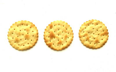 Three Crackers Art Print