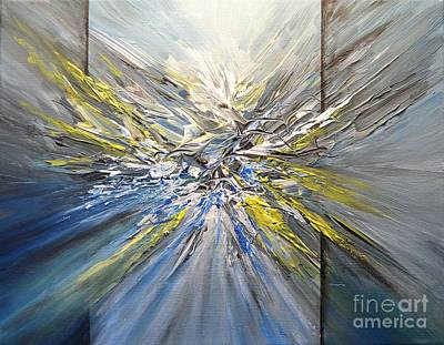 Painting - Three D Abstract One Zero Eight by Greg Moores