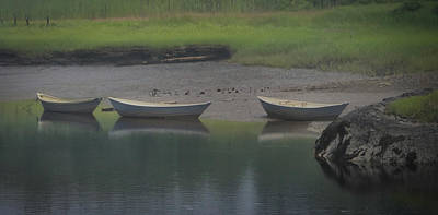 Photograph - Three Dories by Samuel M Purvis III