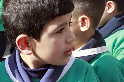 Three Ears And One Nose Original by Munir Alawi