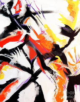 Painting - Exotica B by Expressionistart studio Priscilla Batzell