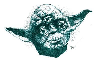 Three Eyed Yoda Original