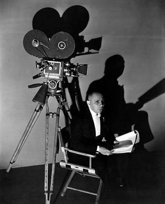 On Set Photograph - Three Faces East, Erich Von Stroheim by Everett