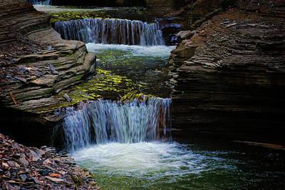 Photograph - Three Falls by Marvin Borst