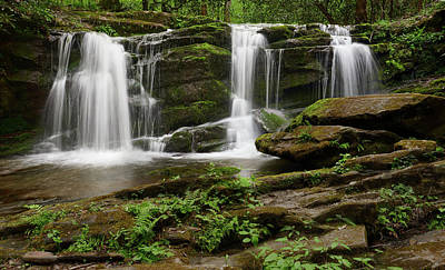 Photograph - Three Falls Of Tremont by Jon Glaser