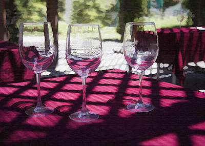 Photograph - Three For Wine by Sharon Foster