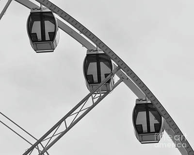 Photograph - Three Gondolas by Kirt Tisdale