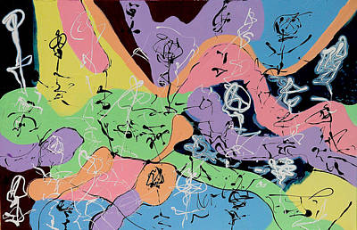 Three Graces 3 Art Print by Wayne Salvatore