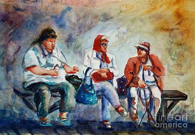 Three In San Diego Art Print by Joyce A Guariglia